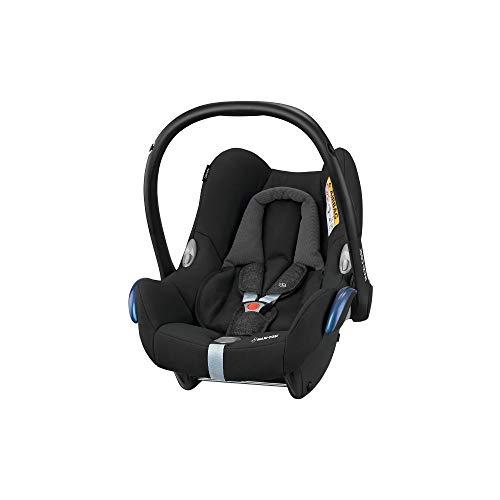 Maxi-Cosi CabrioFix Babyschale, Gruppe 0+ Kindersitz (0-13 kg), nutzbar ab der Geburt bis ca. 12 Monate, Kollektion 2018, nomad black