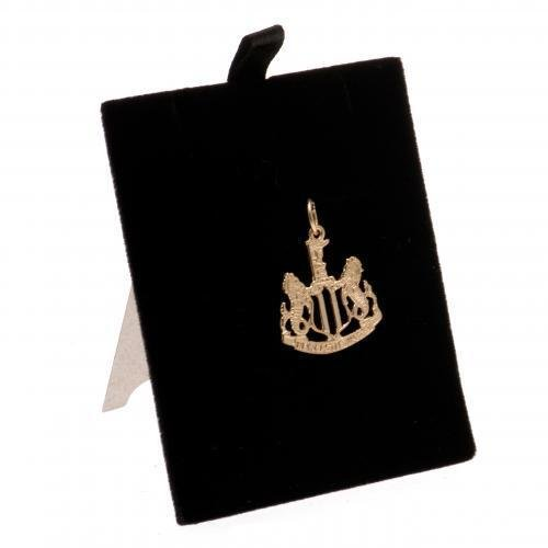 Newcastle United Football Club ciondolo in oro 9�kt regalo souvenir gioielli