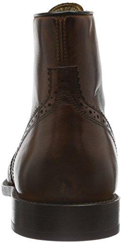 Hudson Greenham Calf, Bottes Motardes Homme Marron (Cognac)