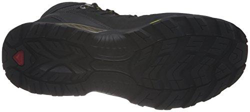 Salomon Quest 4D GTX® 590606Chaussures de randonnée en cuir pour homme Marron Taille 46,5 Black