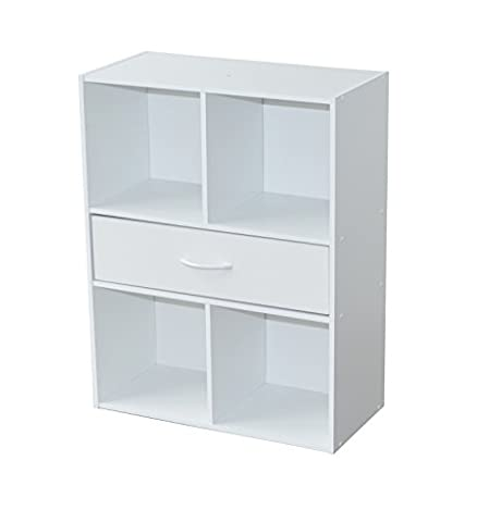 Alsapan Compo 1-Drawer 4 Cube Unit with Melamine, 80 x