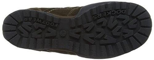 Dockers by Gerli 36HT001, Low-Top Sneaker uomo Grigio (Stone)