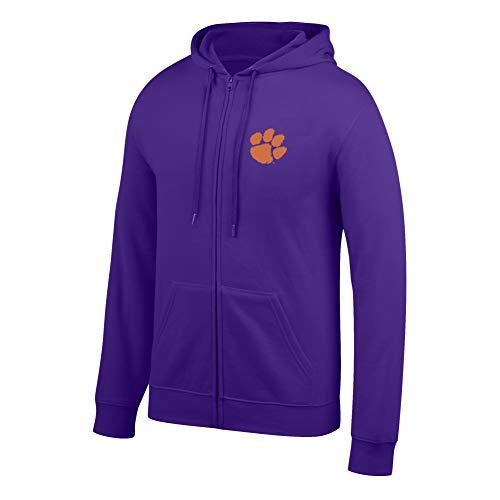 eLITe Top of The World Herren Kapuzenpullover NCAA, Herren, Men's Lightweight Full Zip Hoodie, violett, X-Large Full Zip Screen-print Sweatshirt