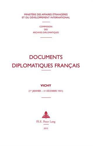 Vichy (1er janvier - 31 décembre 1941) par Ministère Affaires Etrangères