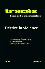 Tracs, N 19: Dcrire la Violence