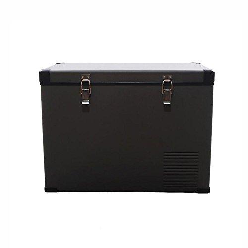 HuanLeBao 45/65 Liter Kühlbox, zum kühlen, thermo-Elektrische Kühlbox 12 Volt und 210-230 Volt, Mini-Kühlschrank für Auto und Camping , Grey , A
