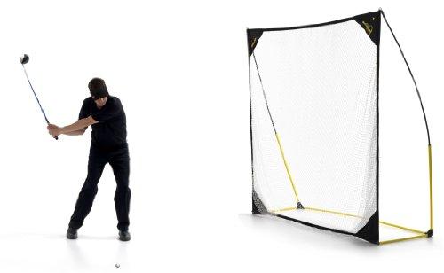 Kickster Academy Quick-Hit Baseball/Softball/Rounders Net - Ultra Portable Hitting/Pitching Net Test