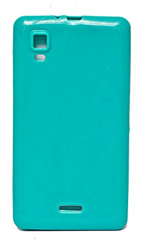 ECellStreet Exclusive Soft Back Case Cover Back Cover For Micromax Canvas Doodle 3 A102 - Green  available at amazon for Rs.149