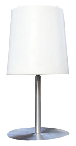 Gacoli Checkmate n° 1 Lampe et chargeur, 23 x 13 x 3 cm, blanc