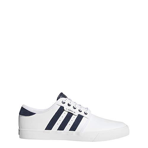 outlet store 2f562 039e0 Adidas Seeley, Zapatillas de Skateboarding para Hombre, Blanco  (FtwblaMaruniGum4