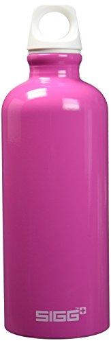 Sigg Trinkflasche Pink (SIGG Fabulous Pink, Design Trinkflasche, 0.6 L, Aluminium, BPA Frei, Pink)