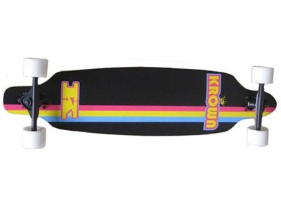 Krown Complete – Longboard Drop Through Elite Black 36 x 9