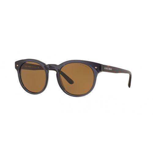 Armani Unisex AR8055 Sonnenbrille, Grau (Grey 502957), One size (Herstellergröße: 51)