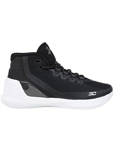 Under Armour Curry 3 Stoff Turnschuhe black white 006