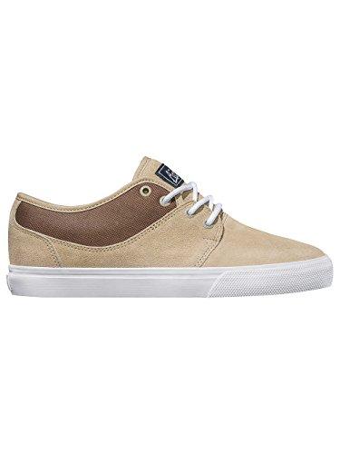 Globe Mahalo, Chaussures de Skateboard Homme 'sand/white