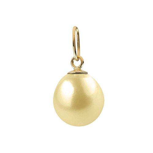 Perlen & Farben Single Anhänger (ohne Kette), 9 kt Gelbgold mit Süßwasserperle, sanft WK-A Preisvergleich