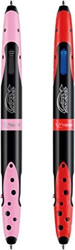 Cerda Plumier Estuche Premium de Cremallera Triple 3 Pisos Trolls – 43 Piezas Contenido Giotto + Regalo