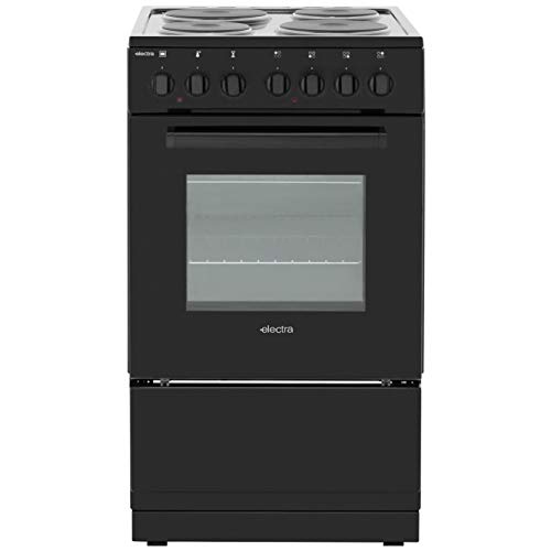 31A7xQw7yQL. SS500  - Electra Se50B Freestanding Electric B Rated Cooker -Black
