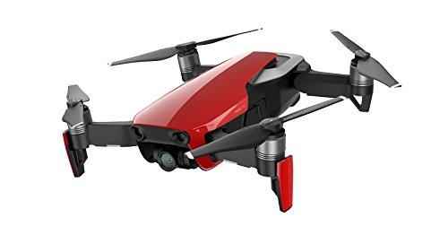 DJI Mavic Air (EU) - Drone Quadricoptère avec caméra, panoramiques sphériques de 32 Mpx, de photos HDR, de vidéos 4K à 30 i/s en 100 Mbit/s et de ralentis 1080p à 120 i/s - Flame Rouge