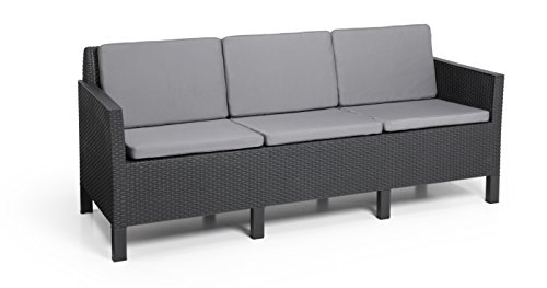 Allibert By Keter Chicago 5 Seater Rattan Lounge Set