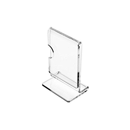 Porta cartellini in plexiglass trasparente formato a3