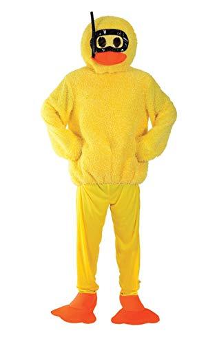 Gelben Kostüm Schnabel - ORION COSTUMES Bath Duck Costume