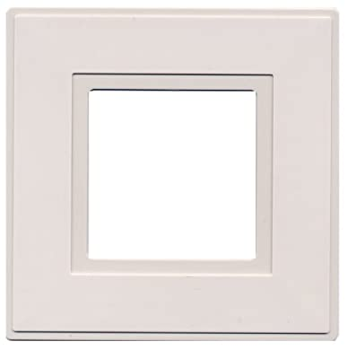 kenable Finger Plate Cover For Behind Switches and Faceplates White Pack Of 2 - cheap UK light shop.