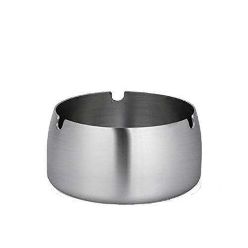 Nwn Tee Tisch Mülleimer Aschenbecher Edelstahl Starker Aschenbecher Mit Abdeckung Trend Mode Niedlichen Aschenbecher (Size : L) - Pad Zeichnung Dekorative