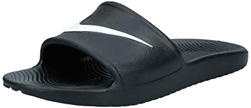 Nike Kawa Shower, Chanclas Hombre, Negro Black/White, 44 EU