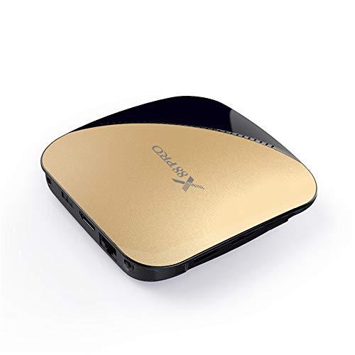 HM2 Android 9.0 TV-Box, 2 GB / 4 G RAM - 16 GB / 32 GB / 64 GB ROM Quad Core Media Player, 2,4 G / 5 G Dual Band WiFi 4 K 3D Smart TV-Box,Gold Ogg Avi Converter