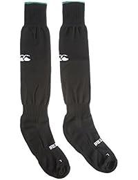Canterbury Ireland Alternate - Calcetines para hombre, color negro, talla M