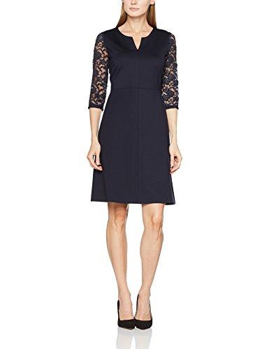 Vera Mont Damen Kleid 0019/4844 Blau (Night Sky 8541)