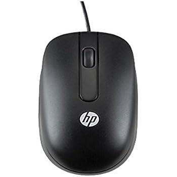 HP PS/2 Mouse - Ratón (PS/2, Óptico, Oficina, Negro, Ambidextro, Monótono)