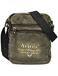 Avirex - 140506 - borsa a tracolla unisex media m 1 scomparto verde militare  cod. 147530d5159