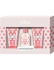 s.Oliver Damendüfte Outstanding Women Geschenkset Eau de Toilette Spray 30 ml + Bath & Shower Gel 75 ml + Hand & Body Lotion 75 ml 1 Stk.