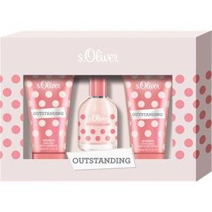 s.Oliver Damendüfte Outstanding Women Geschenkset Eau de Toilette Spray 30 ml + Bath & Shower Gel 75 ml + Hand & Body Lotion 75 ml 1 Stk. - Energizing Body Gel