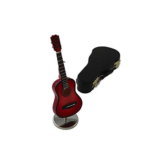 Imagen de ciaf, 2503 4667,  española decorativa roja. miniatura en madera. con estuche y soporte. 16x5x4 cms