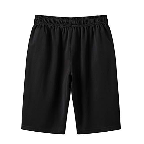 PARVAL Hombres Tallas Grandes Pantalones Cortos clásicos