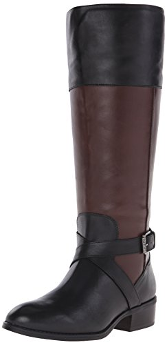 Lauren Ralph Lauren Maryann Large-mollet Bottes d'équitation Black/dark Brown