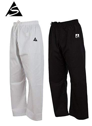Spirit Separate Cotton Karate Trousers (Black, 000/170cm)