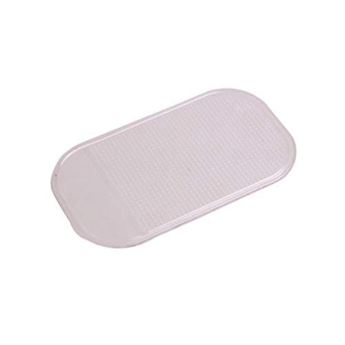 Anti-Rutsch-Auto Dash Sticky Gel Pad rutschfeste Universalhalterung Matte Waschbar Silikon Gel Pad Autozubehör (Farbe: weiß)