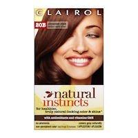 Clairol Colorant capillaire Natural Instincts - Couleur 20B Cinnamon Stick (Châtain moyen chaud)
