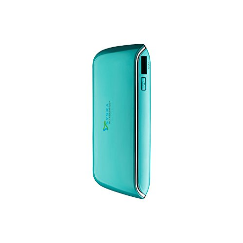 Syska Reserve78 7800mAH Power Bank (Turquoise Blue)  available at amazon for Rs.899