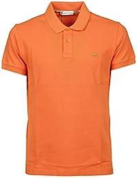 Etro Polo Uomo 1Y1409480750 Cotone Arancione 9a80f75f977