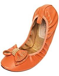 Cocorose London Plegable Zapatos - Camden Damas Ballet Zapatos
