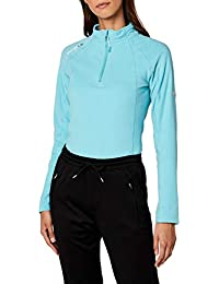 Geographical Norway Talmud Lady Half Zip, Pull sans Manche Femme