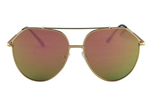 iSweven Mirrored Aviator All New Design For Male Female UV Protected Sunglass (Multicolor-3009B)