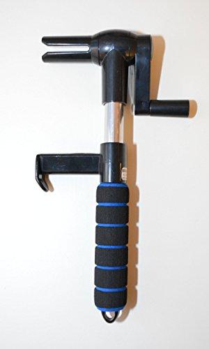 Preisvergleich Produktbild Spanngurtwickler Gurtwickler Spanngurtaufroller speedexx (schwarz-blau)