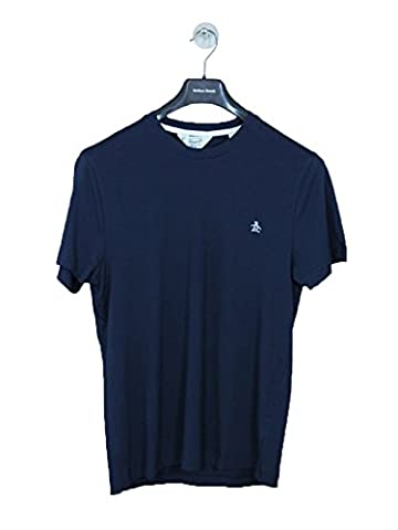 Penguin Shirt Original Mens Plain Short Sleeve T-Shirt New Dark Sapphire XL