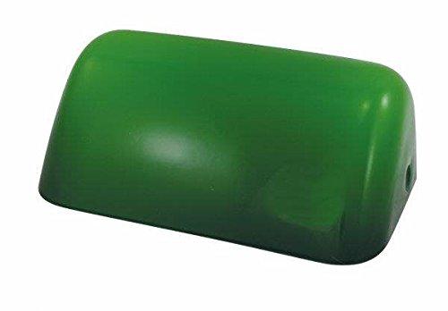 Kleiner Schirm für Bankerslampe, grün 18x7x11cm